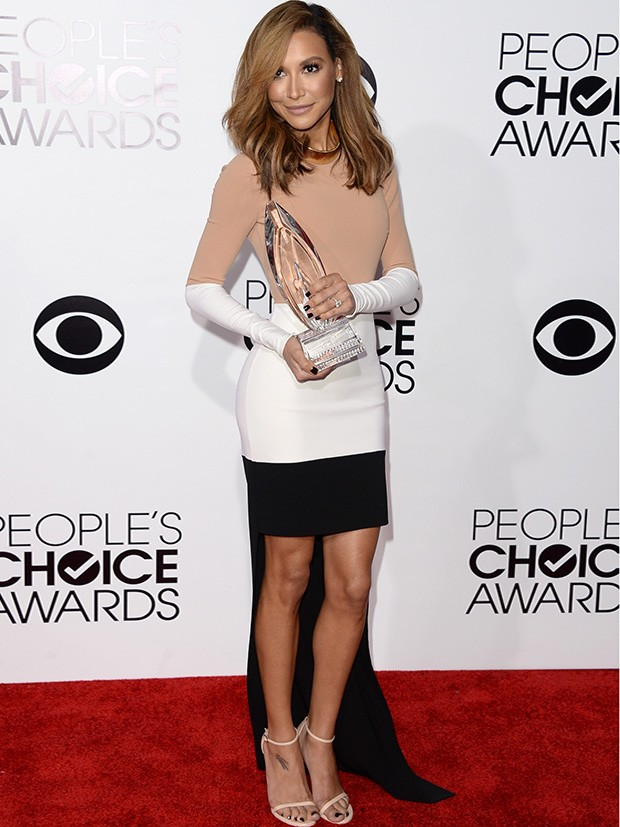 Naya Rivera no People's Choice Awards (Foto: AFP / Agência)