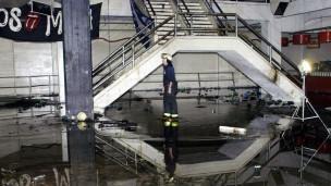 Foto de Cromañon após incêndio  (Foto: AFP)