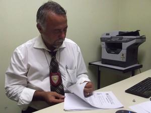 Delegado Pedro Paulo Falcão (Foto: Fernanda Zauli/G1)