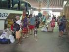 Antes do Natal, aumenta fluxo de passageiros nos terminais de Macapá