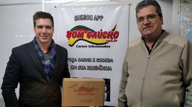 Felipe e Günther Baingo, do Bom Gaúcho (Foto: Divulgação)
