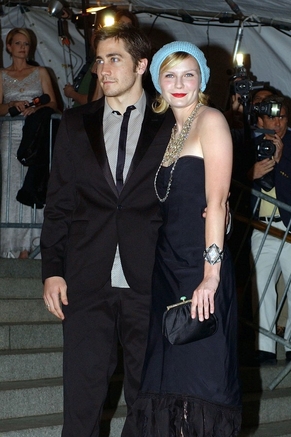 A atriz Kirsten Dunst e seu ex, Jake Gyllenhaal (Foto: Getty Images)