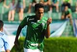 """Herói de vitória, Pacheco """"obedece"""" Veiga e festeja primeiro gol no Bugre"""
