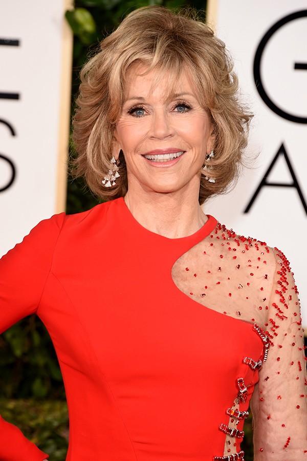 Em seu livro de memórias, Jane Fonda revelou ao mundo que para agradar ao ex-marido Roger Vadim ela aceitou dividir a cama com uma prostituta, mas que a experiência não foi muito agradável (Foto: Getty Images)