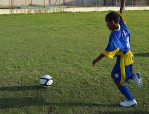 Riquelme sonha em ser jogador do Boca...sergipano (Foto: Felipe Martins)