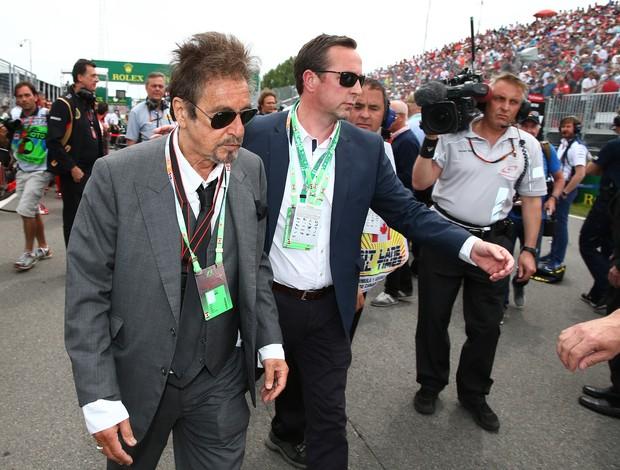 Al Pacino no GP de Montreal em 2015