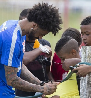 Cristian, no Recife, Corinthians (Foto: Daniel Augusto Jr/ Ag.Corinthians)