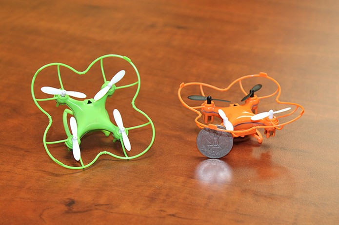 Nano Drone é versão compacta e divertida, com preço acessível (Foto: Divulgação/Indiegogo)