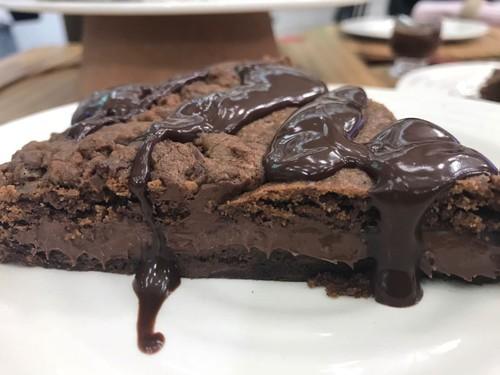 Torta de Biscoito Recheada