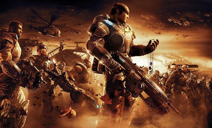Continue a batalha contra os Locust em Gears of War 2 (Foto: Divulgação/Microsoft)