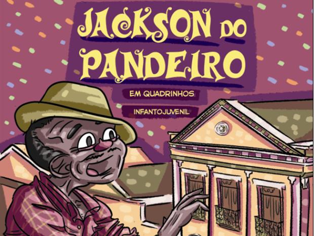 'Jackson do Pandeiro em Quadrinhos' é lançado em João Pessoa (Foto: Reprodução)
