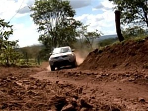 Rali Uberlândia (Foto: TV Integração / Reprodução)