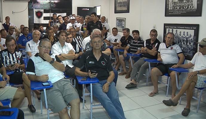Eleição no Botafogo-PB (Foto: Reprodução / TV Cabo Branco)