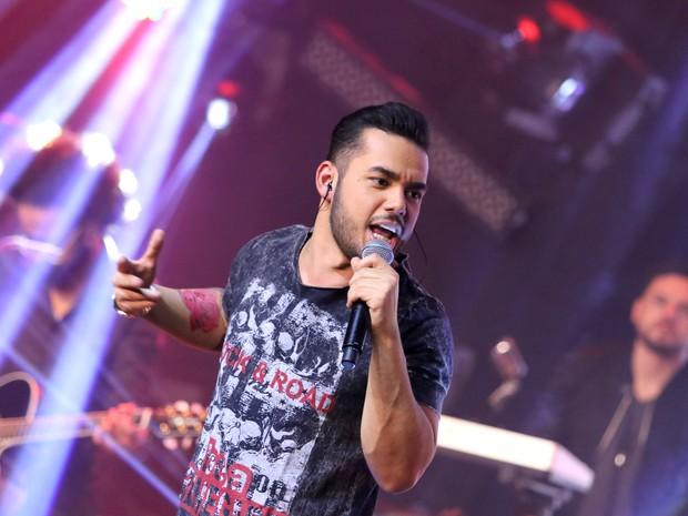 Higor Rocha em show em São Paulo (Foto: Thiago Duran/ Ag. News)