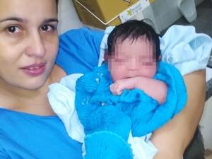 Recém-nascida foi encontrada e levada ao hospital (Foto: Guilherme Renan / Birigui Notícias)