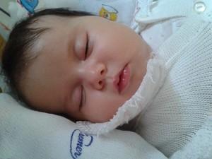 Sofia passou a última noite internada em Campinas (Foto: Divulgação / Campanha 'Ajude a Sofia')