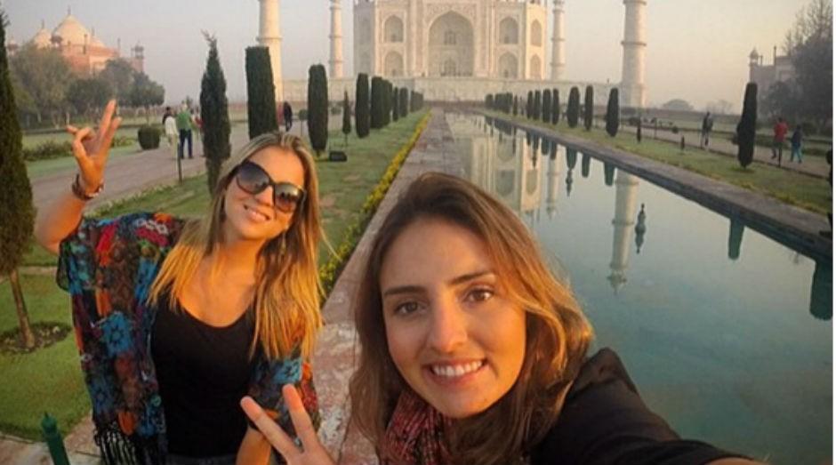 Julia Lima e Jéssica Biolchini tiveram uma ideia de negócio durante viagem pela Ásia. (Foto: Divulgação)