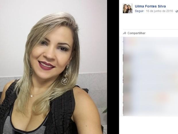 Uilma Fontes morreu após passar por uma lipoaspiração (Foto: Reprodução / Facebook)