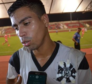 Dentinho, atacante do Andirá (Foto: Duaine Rodrigues)