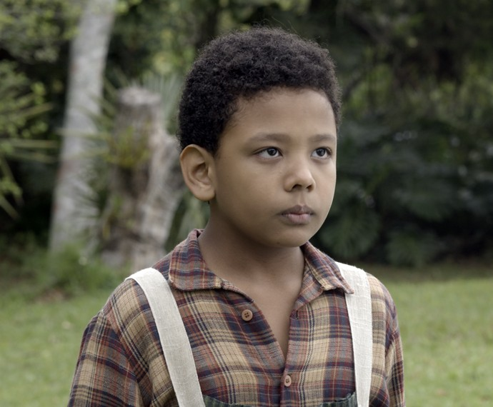 O menino fica muito assustado (Foto: TV Globo)