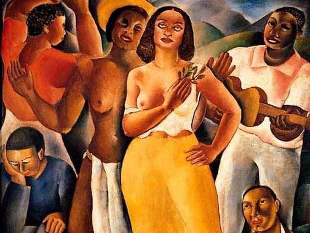 Vitória recebe exposição de Di Cavalcanti (Foto: Divulgação/ Secretaria de Cultura do Espírito Santo)