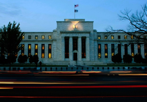 Prédio do Federal Reserve, o banco central dos EUA, em Washington, DC (Foto: Win McNamee/Getty Images)
