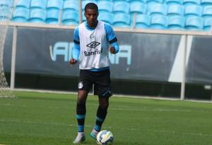 Erazo Grêmio (Foto: Eduardo Moura/GloboEsporte.com)