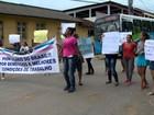 Protestos de familiares impedem saída de PMs de batalhões no ES