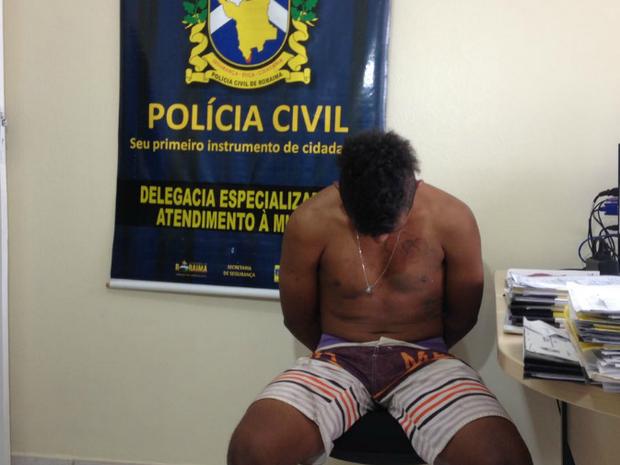 Kelson da Conceição já cumpriu pena por roubo, segundo delegada (Foto: Jackson Félix/ G1 RR)