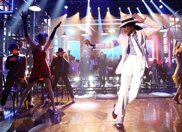 6ª apresentação, a grande final: Ícaro Silva como Michael Jackson (Foto: Reprodução/Instagram)