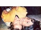 Petra Mattar posta foto antiga com irmão, Luã
