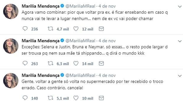 Marília Mendonça (Foto: Reprodução)