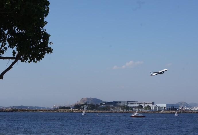 Aeroporto Santos Dumont fica próximo do local de competições (Foto: Thierry Gozzer)