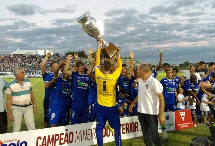 URT campeã do interior Atlético-MG Bernardo Rubinger Patos de Minas Mineiro (Foto: URT/Divulgação)
