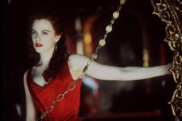 A atriz Nicole Kidman em Moulin Rouge: Amor em Vermelho (2001) (Foto: Reprodução)