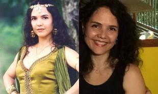 'Explode coração', novela de 1996 de Gloria Perez, será reexibida pelo Viva. Tereza Seiblitz fez sucesso como a cigana Dara, protagonista da trama. Longe da TV desde uma participação em 'Milagres de Jesus' (2015), ela se formou em Letras | TV Globo