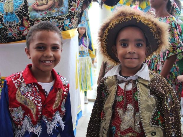 Mais de um terço do Iperador da Ilha é formado por crianças (Foto: Gilcilene Araújo/G1)