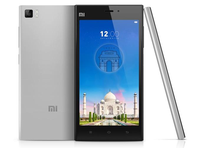 Xiaomi Mi 3 tem especificações um pouco defasadas para padrões atuais (Foto: Divulgação/Xiaomi)