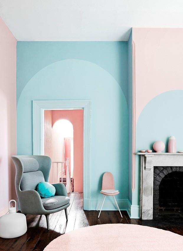 Sala azul: 16 ideias para apostar no tom (Foto: Reprodu)