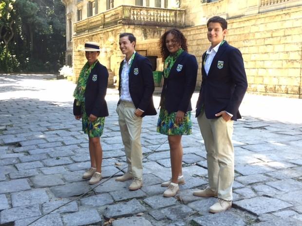 Uniformes Rio 2016 (Foto: Ana Paula Andrade / EGO)