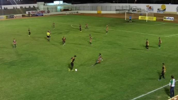 Santa Cruz-RN x Globo FC (Foto: Chagas Costa)