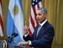 Na Argentina, Barack Obama diz que suas filhas querem conhecer Messi