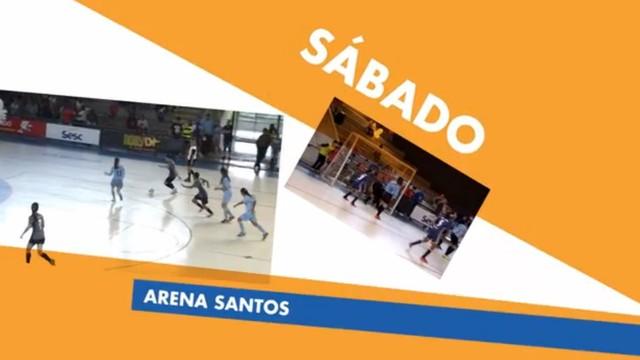 Imagem da chamada da Copa TV Tribuna de Futsal Escolar (Foto: Reprodução/TV Tribuna)