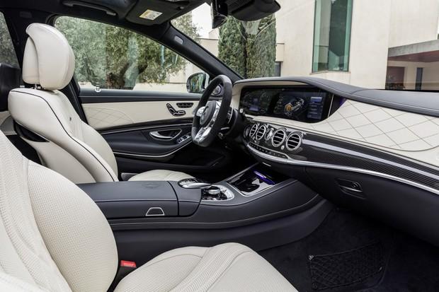 Mercedes-Benz Classe S (Foto: Divulgação)