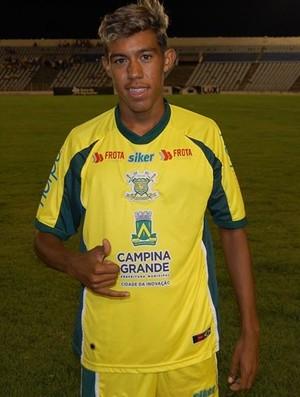 Rodrigo Paraíba, filho de Marcelinho Paraíba sport campina (Foto: Silas Batista / GloboEsporte.com/pb)