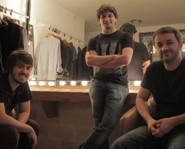 O trio está junto há sete anos e usou covers como forma de divulgação (Foto: Arquivo Pessoal)