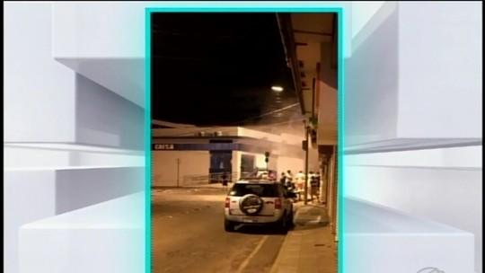 Quadrilha é procurada por explosão a caixas em Pitangui