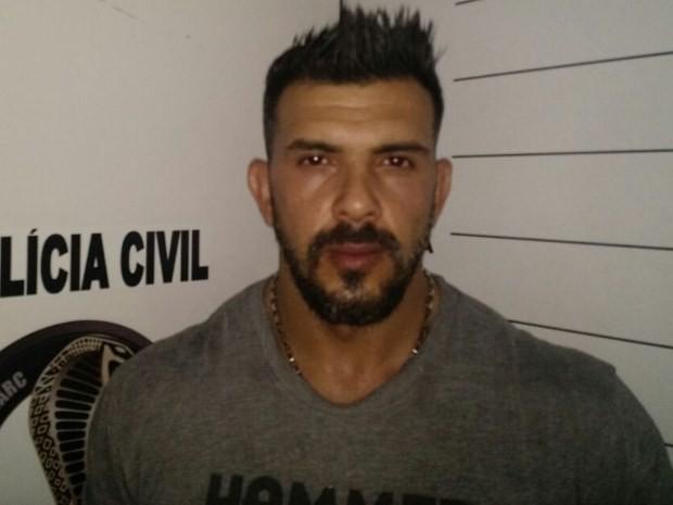 Wellson de Barros Moura é preso em Goiânia, Goiás (Foto: Divulgação/ Polícia Civil)