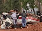 Enterradas vítimas de acidente com ambulância capotada em Tanabi