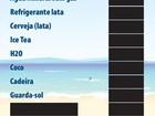 Procon distribui nova tabela de preços nas praias do Rio